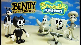 BENDY and the Ink Machine SPONGEBOB SQUAREPANTS Crossover Figures?!