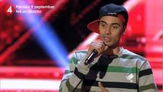 X Factor i TV4 - Malcolm Brandin