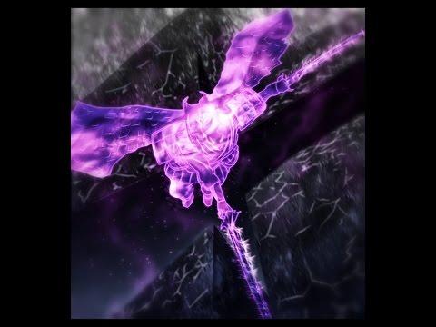 Skyrim flying with Sasuke's Perfect Susanoo