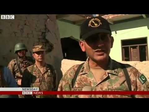 Pakistan Army Hails Taliban Crackdown (Mir Ali Destroyed)
