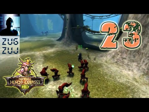 Lets Play Oddworld Munch`s Oddysee (German) [Blind/100%/HD] Vol.23 (Englisch-Fail!)