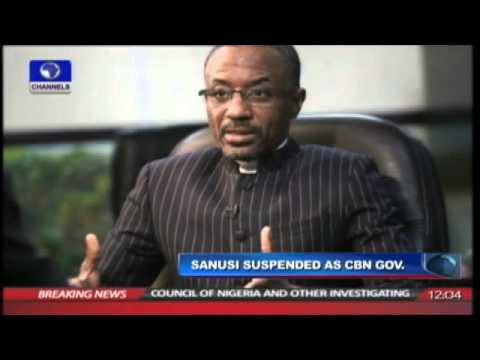 Jonathan Suspends CBN Governor, Sanusi