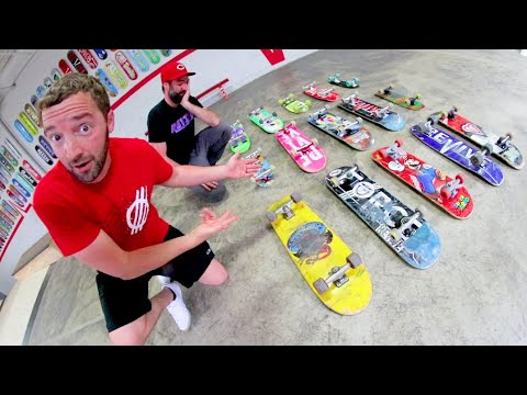 You Must Skate Every Board! / 15 Boards 15 Different Tricks