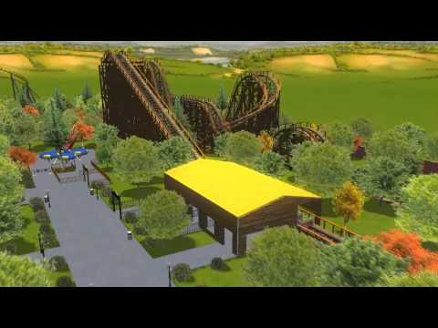 Rct3: Red Oak Theme Park Grand Opening and Tour