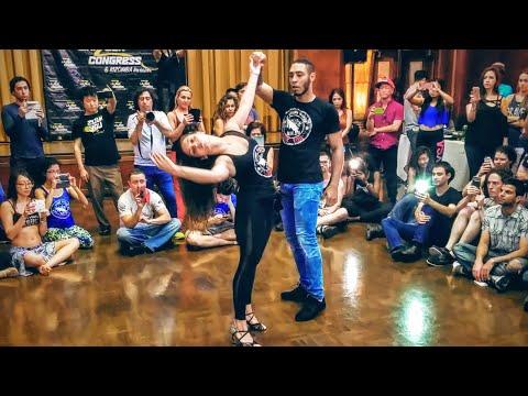 Amazing Dance! William Teixeira & Paloma Alves - Zouk Dynamics Workshop - 2016 LA Zouk Congress