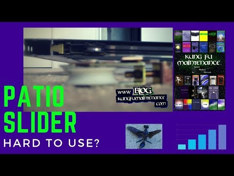 How To Replace Patio Slider Door Wheels