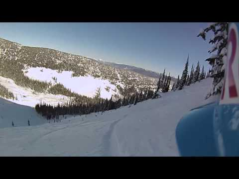 John Jackson Finals Run at Red Bull Supernatural - Full Contour+ POV Top to Bottom Snowboarding