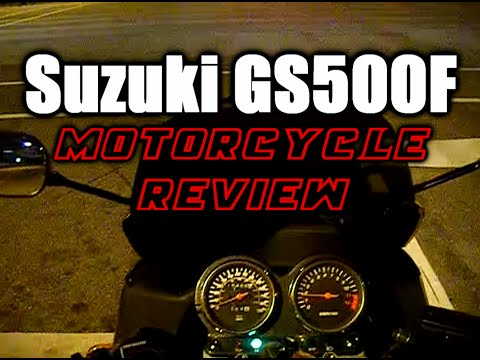 Suzuki GS500F Review
