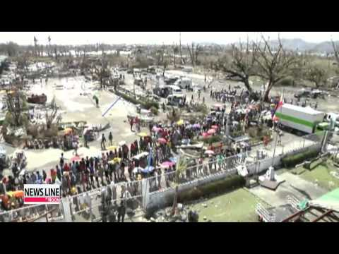 International aid organizations rush aid to typhoon-hit Philippines
