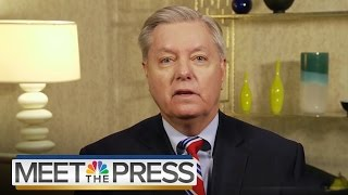 Lindsey Graham On GOP Race, Working With Ted Cruz | Meet The Press | NBC News