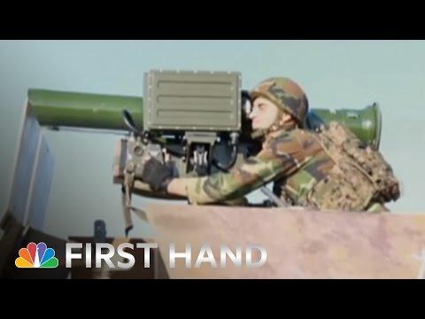 Raw: Kurdish Peshmerga Drive Isis From Sinjar | Nbc News video