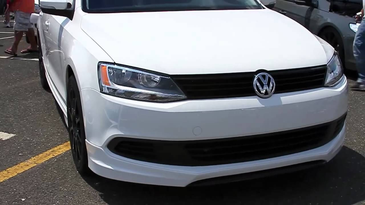 2012 Jetta with factory bodykit and wheels - YouTube