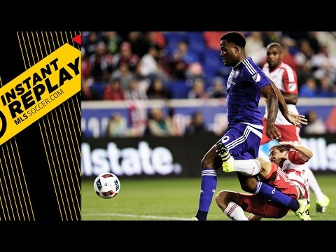 INSTANT REPLAY: Red card debate in Harrison, PK controversy at Avaya