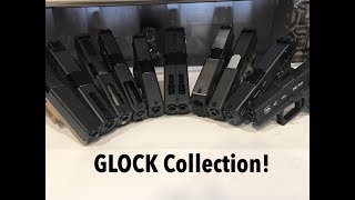 Glock Collection! Airsoft Pistols