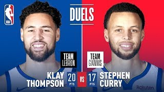 Teammates Turned Opponents; Steph & Klay Duel In Charlotte | 2019 NBA All-Star