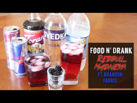 FOOD N DRANK : RedBull Madness FT Brandon Farris