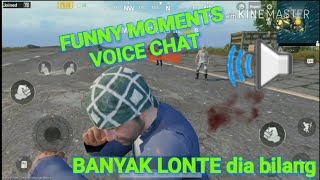 "Bacotan kocak open mic PUBG MOBILE ""funny moments voice chat""😅😅😅"