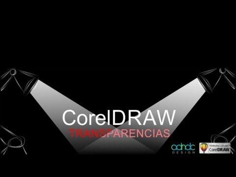 CorelDRAW, TRANSPARENCIAS, estudio completo de efectos @ADNDC @adanJP