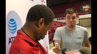 Avery Johnson has Nick Saban moment after Alabama basketball practice