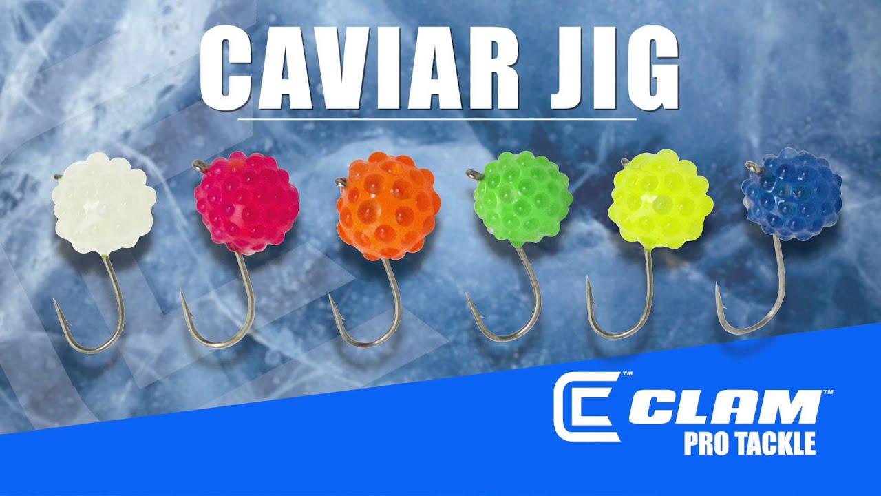 Caviar Tungsten Fishing Jig  Clam Pro Tackle