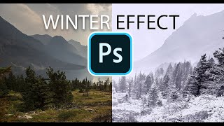 Make a Cool WINTER EFFECT Photoshop Tutorial