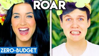 KATY PERRY WITH ZERO BUDGET! (Roar PARODY)