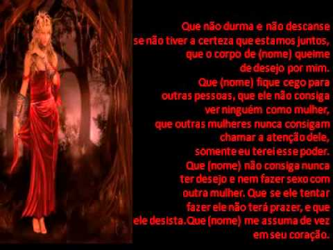 Oração de Maria Padilha para trazer a pessoa amada de vota wmv