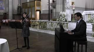 SICILIANA Y RIGODON (Kreisler) Camila Mora, (10 y ) violín