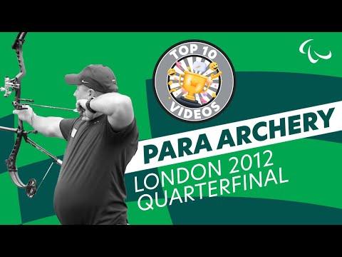 Archery - Stutzman (USA) v Denton (USA) - Men's Ind. Compound Open - London 2012 Paralympics