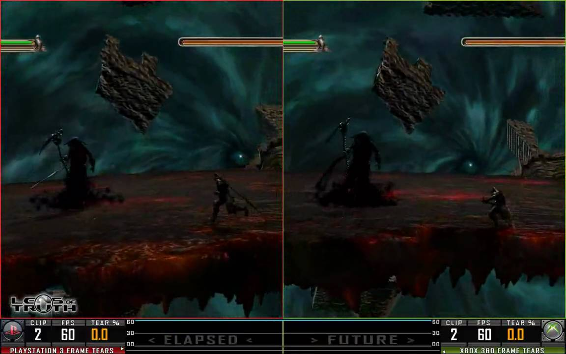 Dante's Inferno PS3 vs XBox 360 - YouTube