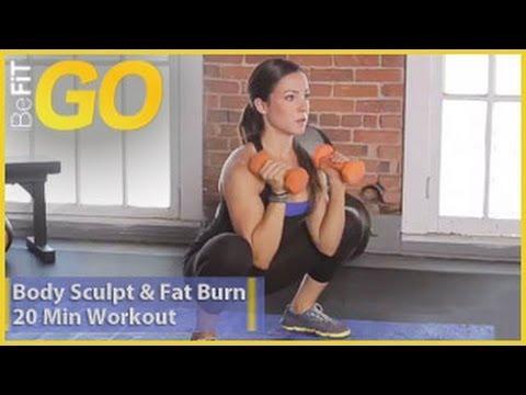 Befit Go: Body Sculpt & Fat Burn 20 Minute Circuit Training Workout video