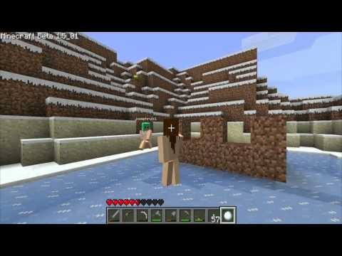 Minecraft: Nude Snow Fight