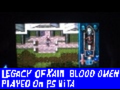 Legacy Of Kain: BLOOD OMEN [PS1] on Ps Vita