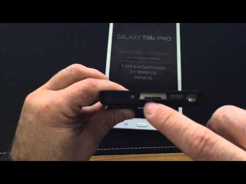Unboxing. Setup and Quick Review of Samsung Galaxy Tab Pro 8.4
