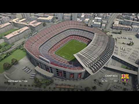 FIFA 16 - Stadium Camp Nou - FC Barcelona