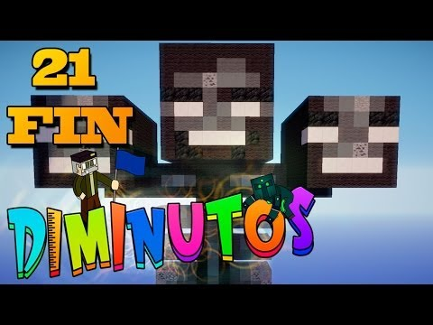 LA GRAN BATALLA FINAL #DIMINUTOS Episodio 21 FINAL Minecraft Supervivencia