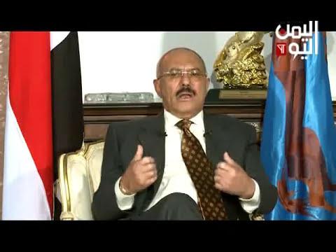 فيديو: علي عبدالله صالح يلتقي في مخبئه بكبار قادة جهازة الاعلامي