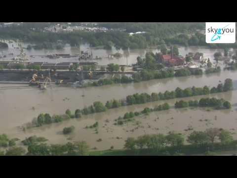 Powódź We Wrocławiu - Ujęcia Z Powietrza 2010