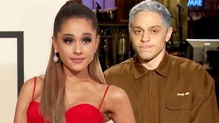 Did Ariana Grande Overreact to Pete Davidson's SNL Proposal Joke?