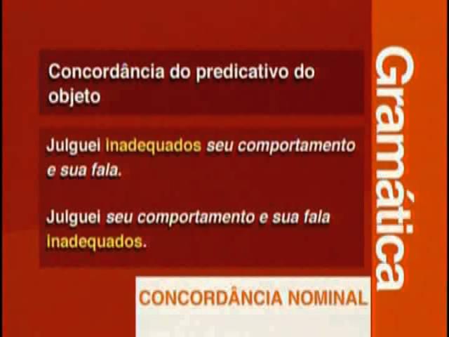 A 14 - Concordância Nominal - Vestibulando Digital