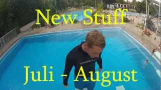 Rainhard Riede New Stuff Juli - August Splashdiving / X-Diving