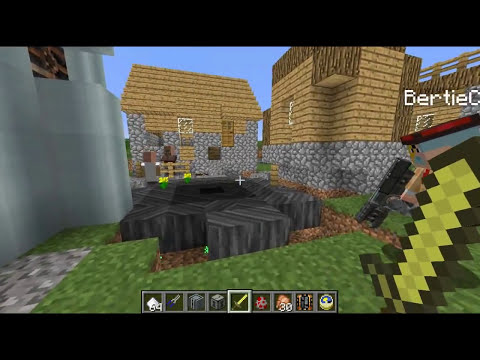 Minecraft NUCLEAR REACTOR FORCEFIELD! Advanced Technology!