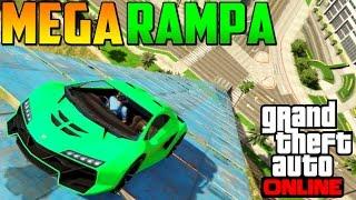 MEGA RAMPA INCREÍBLE!!! - Gameplay GTA 5 Online Funny Moments