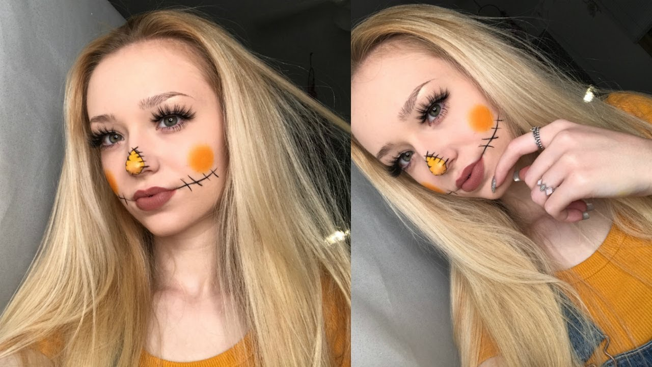 How to do scarecrow makeup