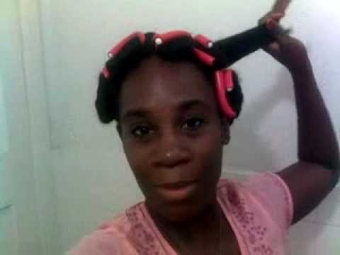 Stretching Natural Hair With Flexi Rods Natural Hair Stretch w Flexi