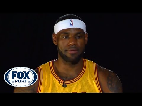 LeBron James' vision for the Cavs