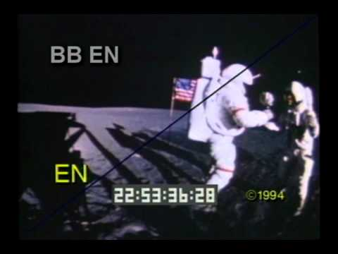 NASA - Challenger Space Shuttle Explosion - Moon Landing - Best Shot Footage - Stock Footage
