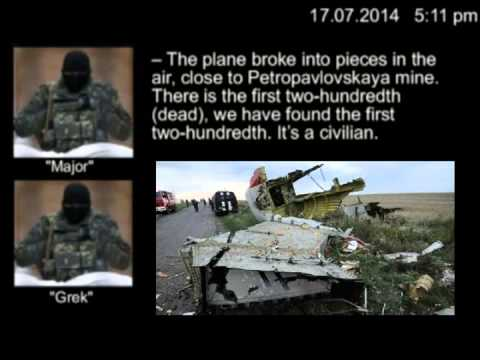 "YOUTUBE CLIP ""PROVING"" REBELS SHOT DOWN MALAYSIAN FLIGHT MH-17"