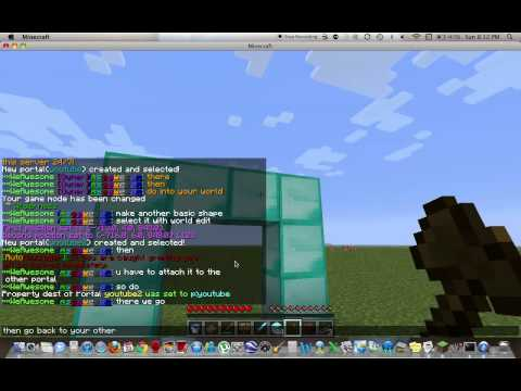 Minecraft  How to make a creative world for your server  Multiverse Plugin  World Edit
