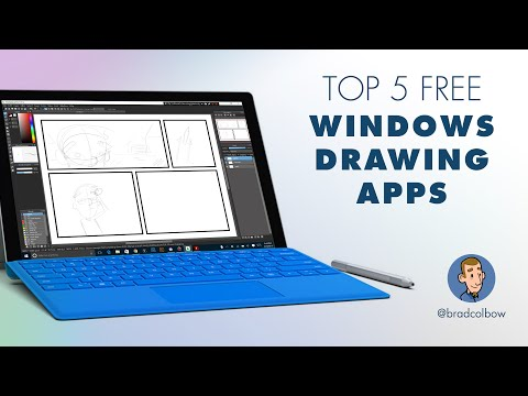 My Top 5 Free Windows Drawing apps